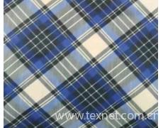 寻找蓝色格子的涤纶面料急需要用来做箱包 点击查看大图