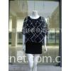 气质条纹雪纺衬衫+吊带裙(两件套)