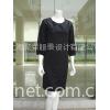 日式七分袖成熟连衣裙