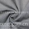 全棉靛蓝竖条纹色织布