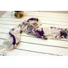 平网印花围巾