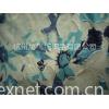 棉涤烂花印花双面连接布