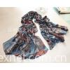 羊毛+莫代尔斜纹围巾