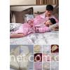 真丝绗缝睡袍