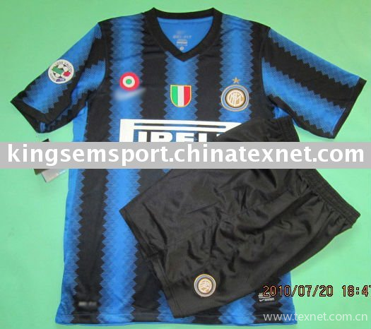 huge discount 4e907 867b6 2010-2011 Inter Milan home color soccer jersey with scudetto ...