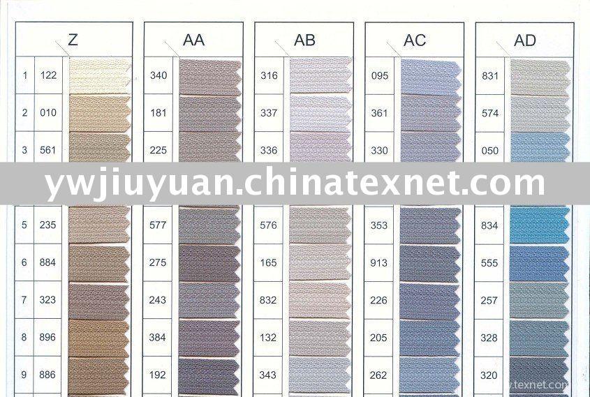 Ykk Color Card English Version China Ykk Color Card English