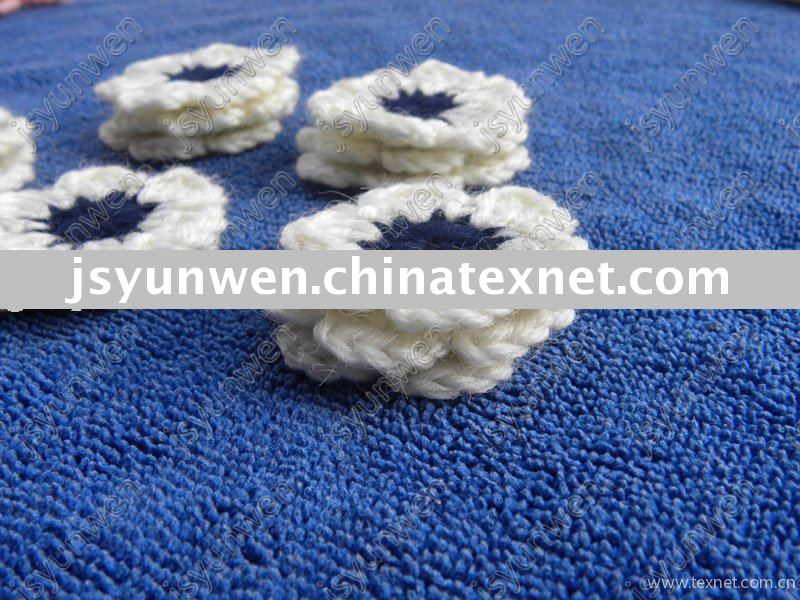 Pattern In Pdf Crocheted Large Flower Applique China Pattern In Pdf
