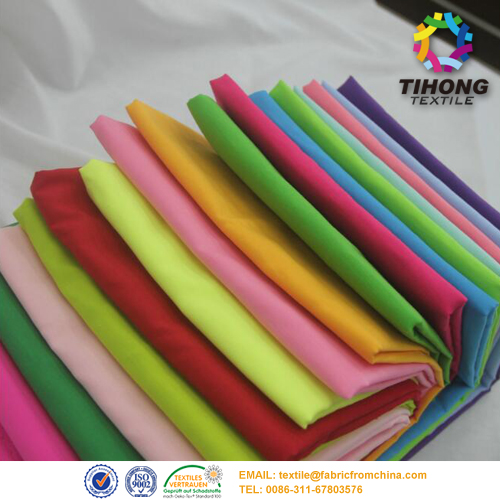 polyester cotton lining fabric, China polyester cotton