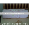 2010 silk fabric/white baby quilt/home textile
