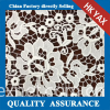 New design lace fabric;China factory lace fabric Water Soluble; Water Soluble lace fabric