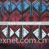 100% Rayon Spandex Jersey Fabric With Printed