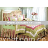 100% cotton girl's quilt bedding set