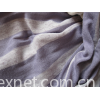 Knitted Color Striped Fabric