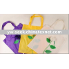 fashion rose shopping bag