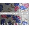 printed rayon/cotton fabric