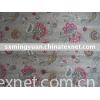 Viscose Linen printed fabric