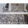 Shines 100% polyester printed Super soft  bedding set