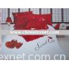 A-3Love roses 100% cotton reactive  printed  bedding set