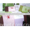 A-55 Floating flower season100% Woven cotton Embroidered bedding set