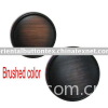 Fashion  polyester button in dyed brushed color