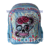 Skull Design Teenager Backpacks