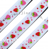 Sublimation print grosgrain ribbon