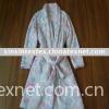 coral fleece bathrobe( 100% polyester coral fleece)