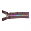 Nylon color-tooth zippers