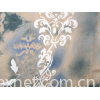 Curl-surfaced printed cloth