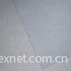 Wool/polyester type fabric