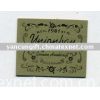 jeans  leather patch  clothing label hang tags