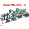 RH-800 Full-automatic disposable three-layer mask production line