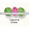Crackle Glass Bead