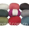 dyed woolen merino wool yarn