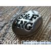 logoed facezamacbutton fasteners