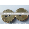yibei 2 holes abs plating button