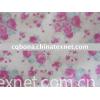printed 100% cotton/CVC flannel fabric