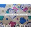nightgown/sleepwear/pajamas printed cotton flannel fabric