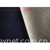 Indigo knitted french terry