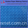 Polyester plain fabric for paper making