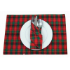 Checked placemat