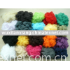 100% polyester dope dyed staple fibre