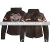 Harley Davidson Women's Miss Enthusiast 3-in-1 Leather Jacket 98142-09VW.harley davidson women's jacket 98142