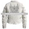Harley Davidson  97138-09VW,women's Wind Crest Leather Jacket .harley women's  jacket 97138