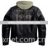 Harley-Davidson 97193-10VM ,Men's Trek 3-in-1 Leather Jacket