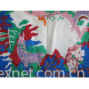 rayon in printing fabric