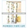 Ployester shower curtain