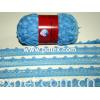 mesh pompom yarn
