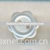 Resin button/laser flower button
