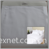 TC cotton / CVC / polyester cotton 50/50 satin fabric 40sx40s hotel linen bed sheet